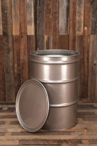 New 55 Gallon Open Head Stainless Steel Drum Beer Cbd