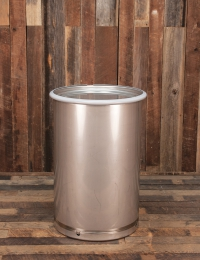 Sanitary 30 gallon drum