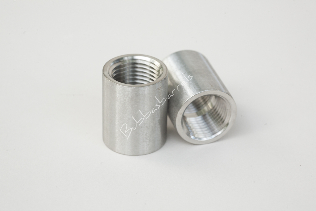 2 Inch Stainless Steel Coupling : Quot stainless coupling inch bubba s barrels