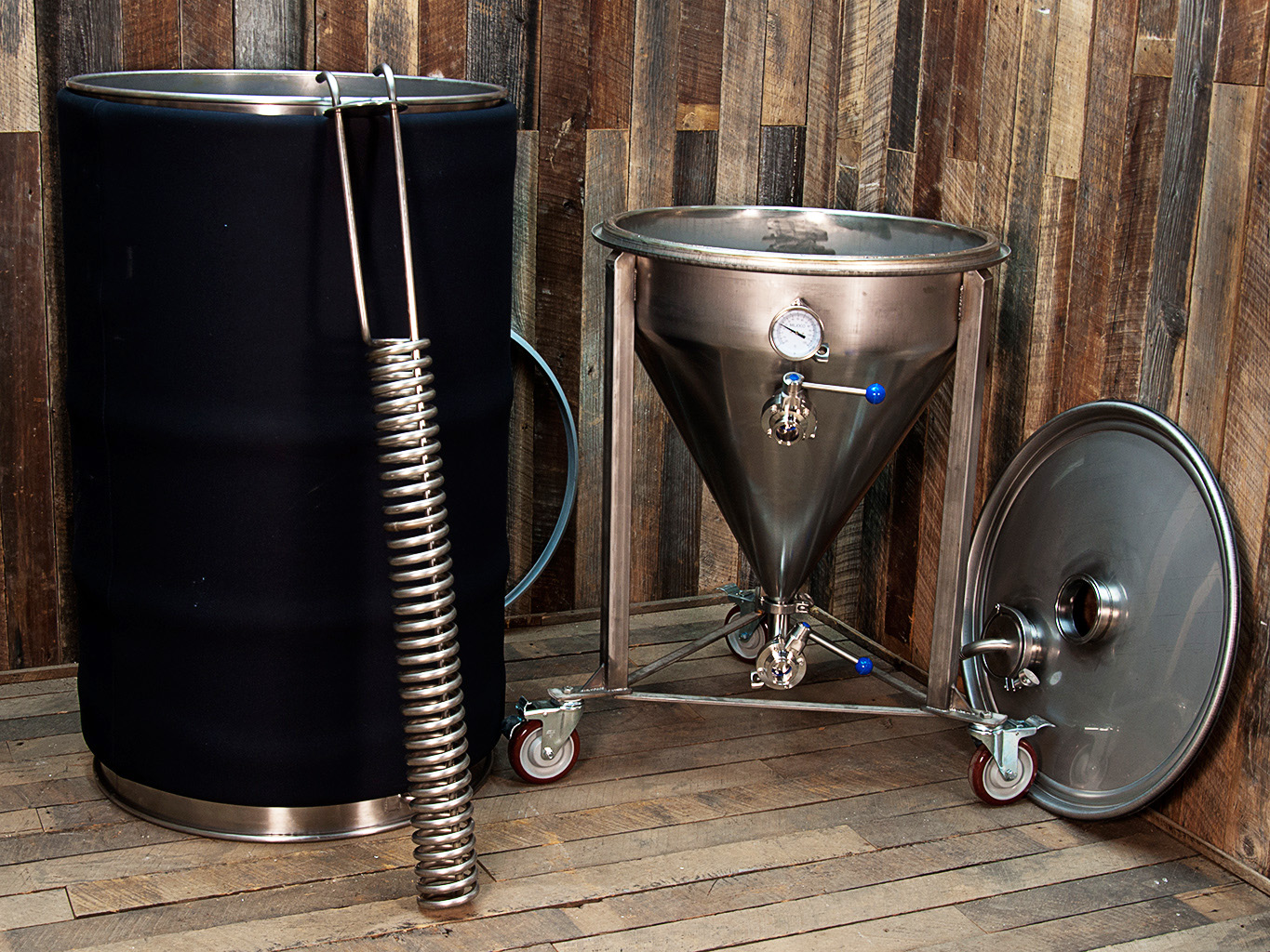 3 Bbl Fermenter With Cooling Bubba S Barrels