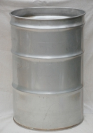 55 Gallon Stainless Steel Barrel - Open Head