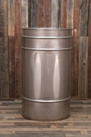 100 Gallon Stainless Steel Drum