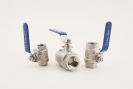 "3/4"" two piece ball valve"